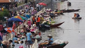 [新聞]  曼谷市新水上市場 迎新春假期