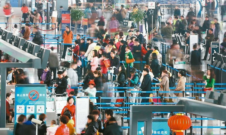 [新聞] 春節出國 中轉廣州旅客大增