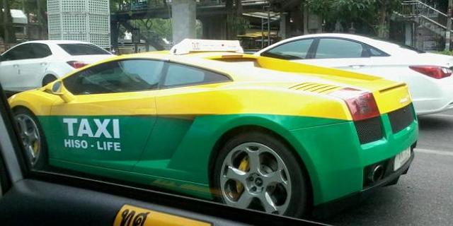 [新聞] 超跑拿來當計程車會不會太帥? 看完令人直呼羨慕