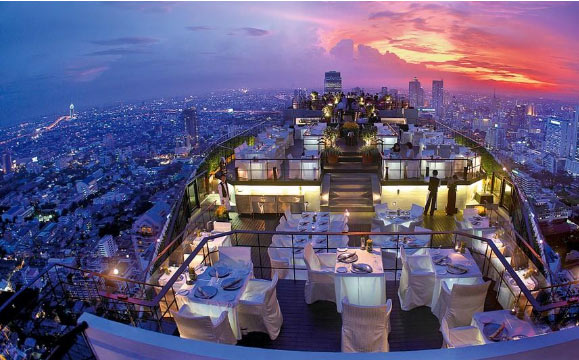 [新聞] 曼谷EtsuYoSho露天吧台360度鳥瞰絢麗夜景