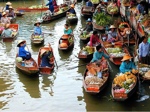 [新聞] 盤點泰國曼谷10大必去水上市場