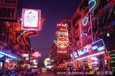 Pattaya, Thailand    3rd December 1910 - Modern neon lighting is first demonstrated by Georges Claude at the Paris Motor Show.