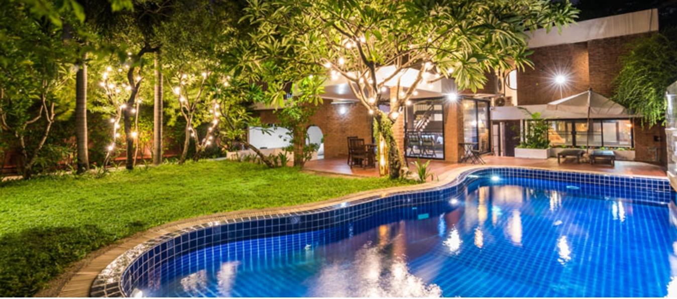 [曼谷民宿推介] 曼谷 AM HOUSE, 別墅型 Villa / 泳池 / BBQ~