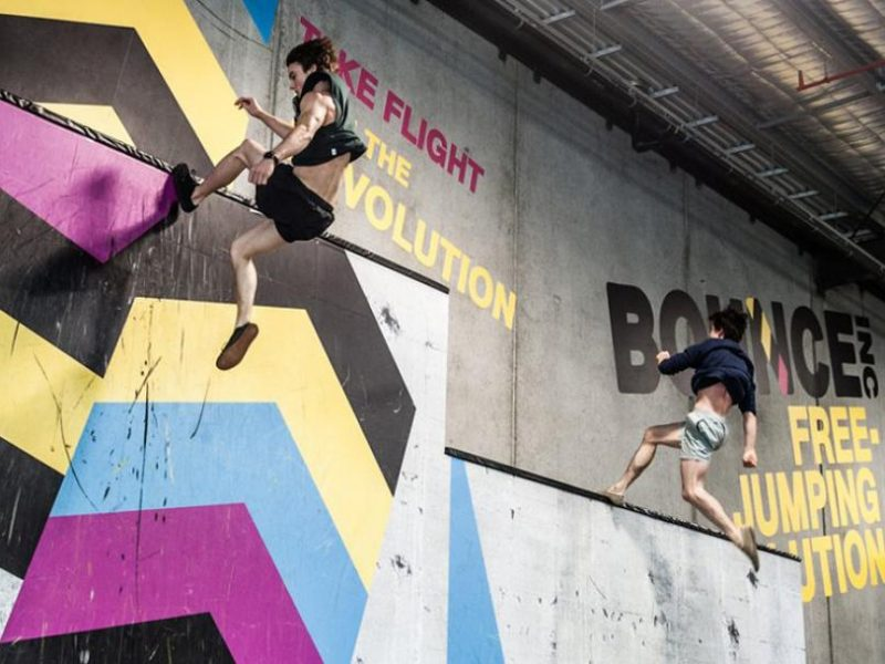 [新聞] 曼谷BOUNCEinc 引進Clip'n climb 大人小孩一起歡樂彈跳